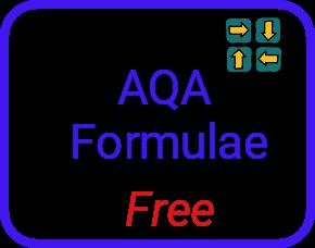 AQA formulae