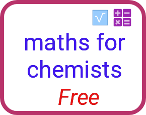 Maths skills for chemistry students